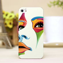 pz0022-16 oil painting man Design Customized cellphone transparent cover cases for iphone 4 5 5c 5s 6 6plus Hard Shell