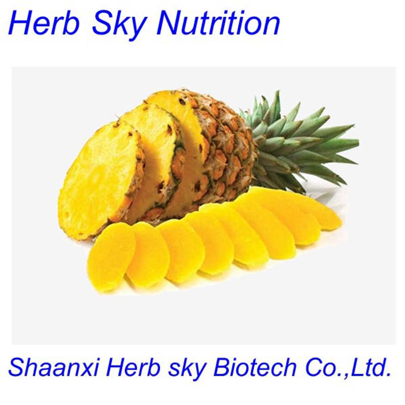 100% Natural Pineapple Extract/fresh pineapple price/Pineapple extract powder 500g/lot free shiping by EMS