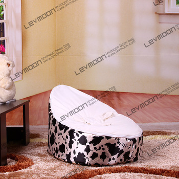 FREE SHIPPING baby bean bag cover with 2pcs white cover baby beanbags kid's bean bag chair baby bean bag seat(China (Mainland))
