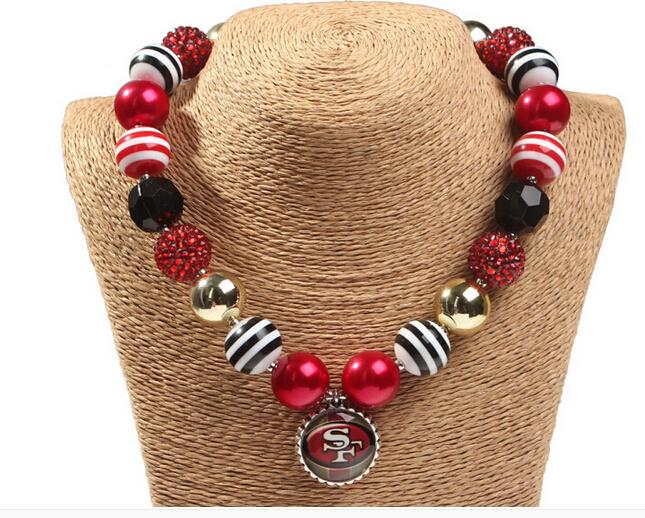 Summer Fashion Jewelry Baby Girls Boys Necklace Bottle Cap Pendant Chunky beads Bubblegum necklace(China (Mainland))