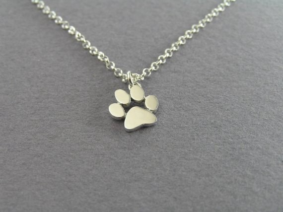 10pcs/lot 2016 Cat Dog Paw Animal Necklace Women Pendant Long Cute Delicate Statement Necklace Chain with Pendant N191(China (Mainland))