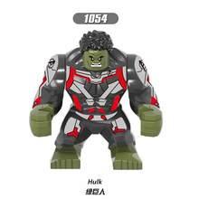 Gamora Endgamer 4 vingadores Hulk Figura de Ação Thanos Pantera Negra de Blocos de Construção Compatíveis com LegoINGlys Maravilha Brinquedos(China)