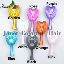 Beautiful professional hair styling tools cute Comb hair Brush Comb 5 Colors Drop Shipping massage comb(China (Mainland))