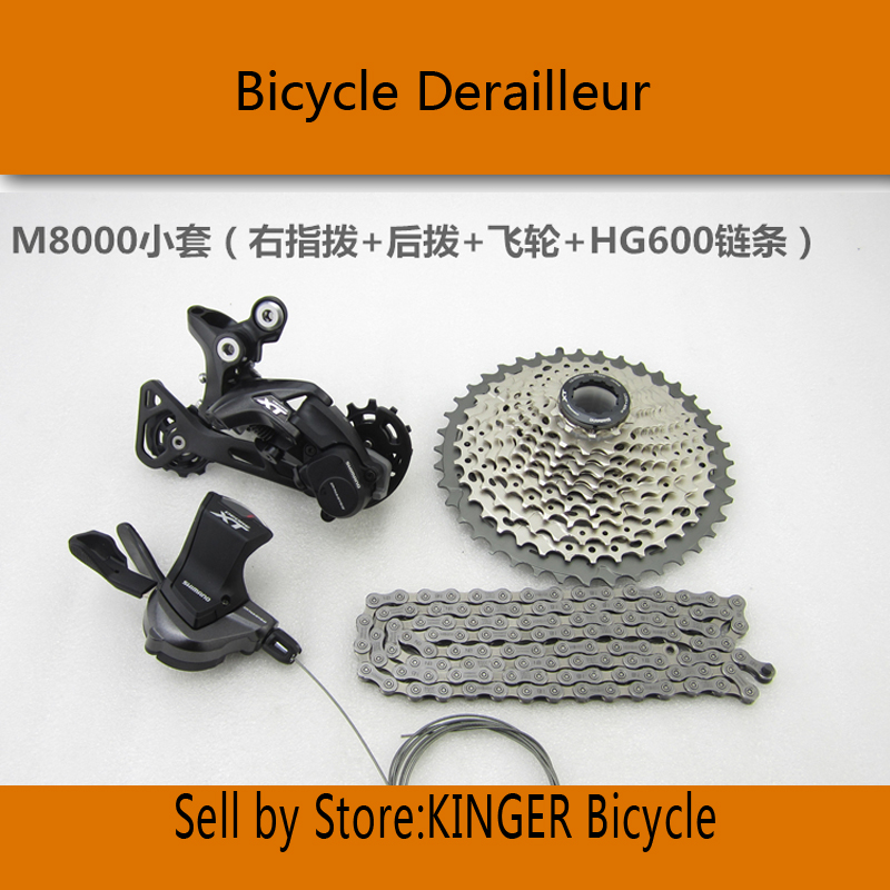 product DEORE XT M8000 groupset 1x11s mtb xt groupsets kits mountain bicycle parts / campagnolo groupsets