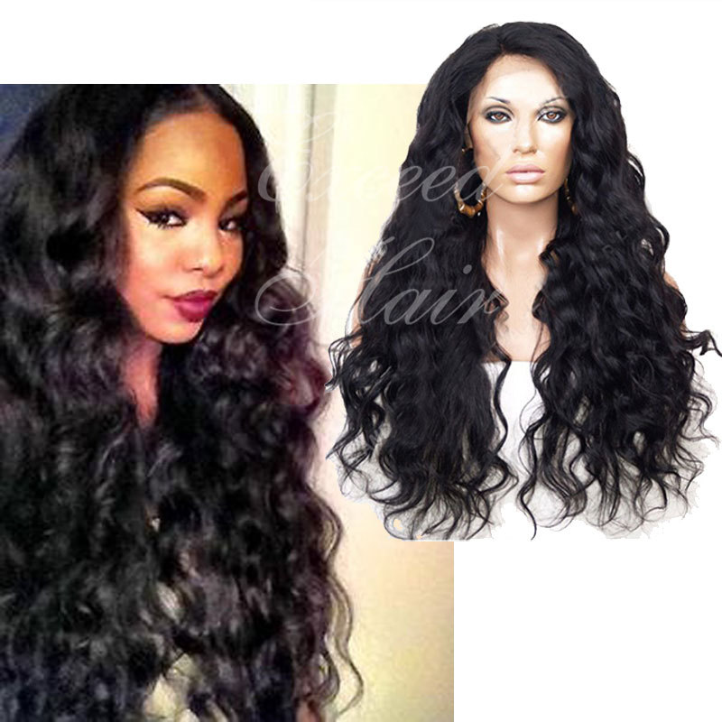 Top Quality Brazilian Full Lace Wig Virgin hair Lace Front Wig Glueless Baby Hair For Black Women brazilian virgin hair wig<br><br>Aliexpress