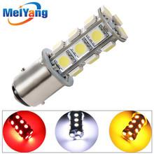 1157 BAY15D P21/5W White Red Amber / Yellow  5050 18 SMD LED Car Brake Stop Lamp Light Bulb Car Light Source Lights