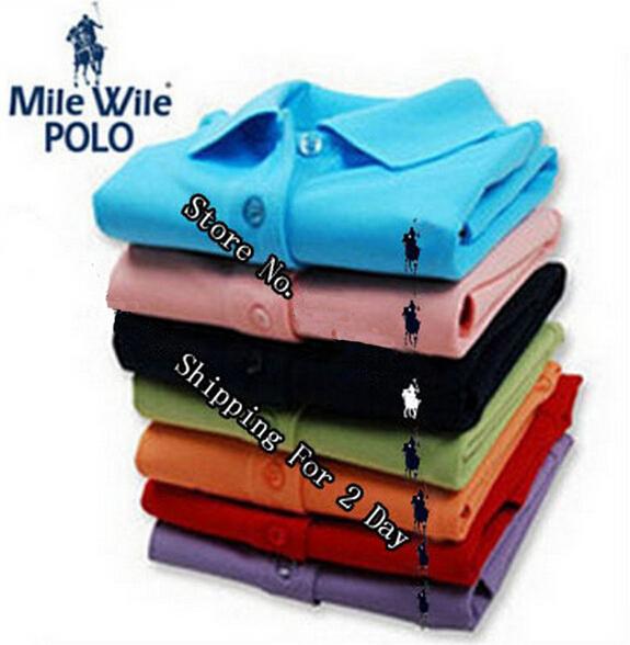 2015 small hrous fashion Polo men brand short sleeve Polo shirt polo ralphly solid polo shirt camisa plus size S-6XL 22 color(China (Mainland))