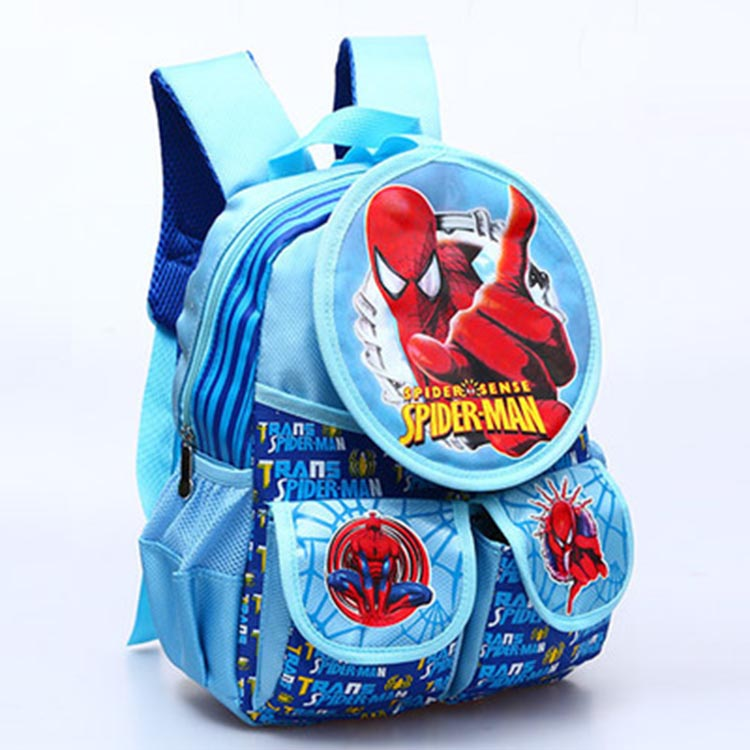 2016 new cartoon Barbie princess school bags for girl boys Spiderman backpack kids bag children kindergarten bag mochila escolar(China (Mainland))