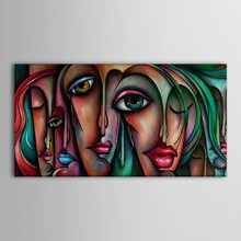 Hand Painted Oil Painting People Sex Girl Big Eyes Wall Art Handmade Oil Painting Big Eye GIrl Pop Art(China (Mainland))