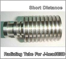 High Quality Full Metal Short Distance J-head Hotend Radiating Tube for 3D Printer bowden extruder RepRap MakerBot Kossel Delta