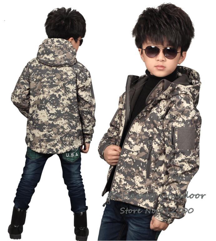 Children Outerwear Outdoor Winter Jacket Boys Girls Kids Ski Skiing Jackets Hoodies Waterproof Coats Fleece Inner - E-Happymarketing Co.,Ltd store
