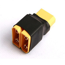 Original AMASS XT90 2 Male to 1 Female Serial Plug Connector AMMC05 For RC Camera Drone Accessories