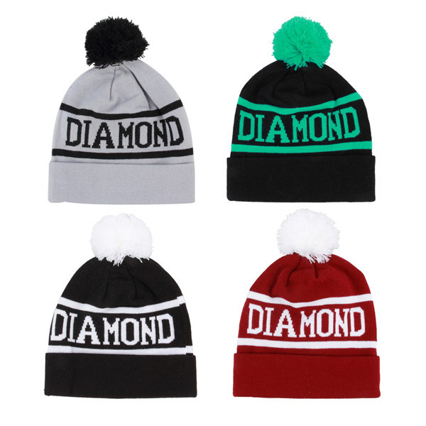 1pc Beanie Pompon Hat Sport Caps Men Hat Beanies Knitted Winter Hats For Men And Women
