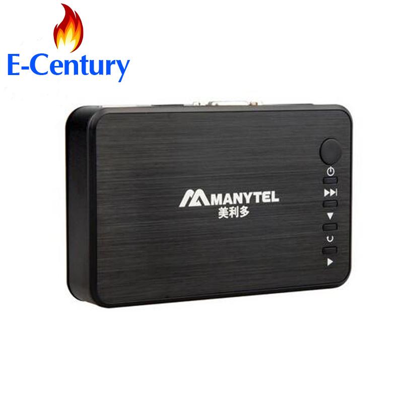 MANYTEL Media Player Hdd 1080P USB External Hdd Media Player With HDMI VGA SD Support MKV H.264 RMVB WMV Media Player(China (Mainland))