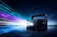 LaserDock Home Laser Show System - 1W RGB Laser Projector stage 1w rgb laser light(China (Mainland))