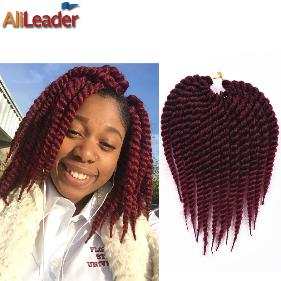 Crochet Box Braids 12 Inch : 2016 New 12 Havana Mambo Twist Crochet Box Braids Hair 75G/Pack ...