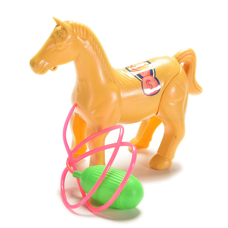 1PC New Pinch The Horse Will Run Up Pressure Jump Vault Toys For Children DIY Manual Wind Up Toys Kids Toys Toy(China (Mainland))