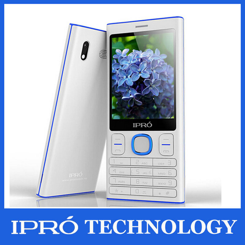 New Arrive 2015 Ipro I3280 Original Mobile Phone Unlocked 2.8 inch Screen telefonos moviles GSM Dual Sim WITH earphone cellphone(China (Mainland))