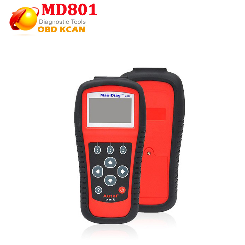2016 Maxidiag Autel MD801 code reader scanner for OBD1 OBDII protocol MD 801 one year warranty(China (Mainland))