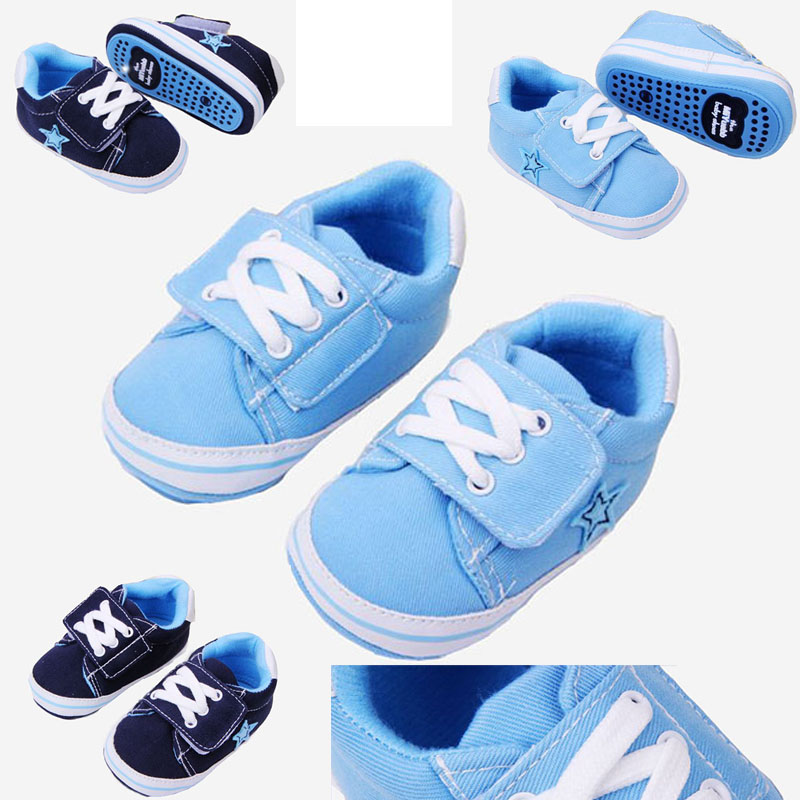 0-18M baby mocassins infant kids boys girls soft sole canvas shoes sneaker toddler newborn shoes hot bebe anti-slip shoes(China (Mainland))