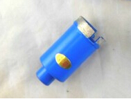 Free shipping of high quality 1pc wet drilling diamond marble granite hole saw 20mm M10 inner