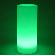 Free shipping wonderful LED Tower Pillar small Cylinder Floor lamp outdoor round column lights of outdoor landscape lighting
