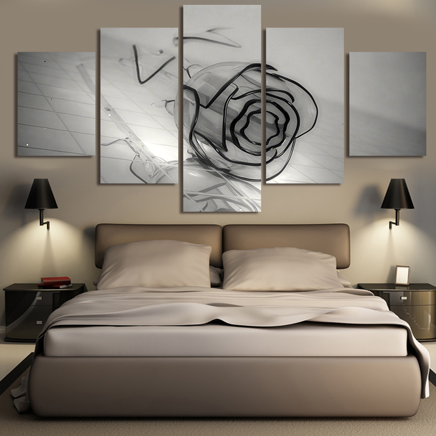 Living Room Canvas Paintings Popular Panel Artwork Buy Cheap Panel Artwork Lots From China