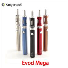 100% Original Kanger Evod Mega Kit 2.5ml 1900mah Battery ,Kangertech e cigarette Starter Kit .(MM)
