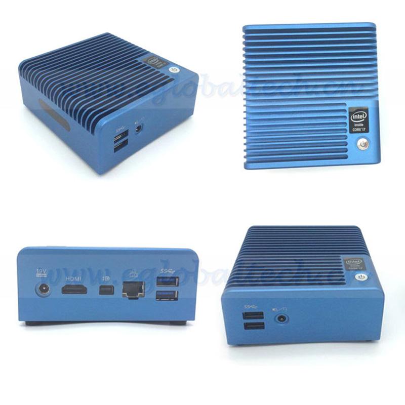 Small Computer Desktop PC i7 5500u 16GB RAM 512GB SSD HTPC TV BOX HDMI USB3.0 300M WIFI Free Shipping! lighter than a tablet(China (Mainland))
