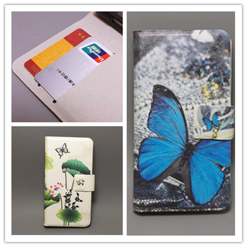 Ultra thin Flower Flag vintage Flip cover Sony Xperia M /Dual/C1905/C1904/C2004/C2005 Cellphone Case Freeshipping - small grocery store111 store