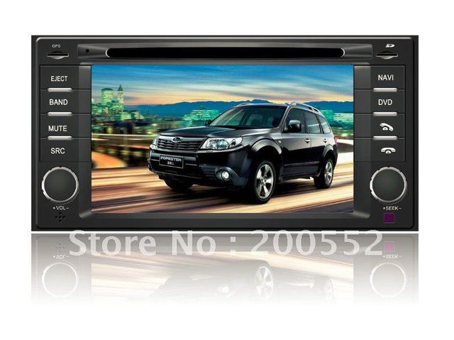 "7"" 2 DIN car DVD player For SUBARU Forester with GPS TV Blutooth RDS ipod PIP V-CDC 3G USB host"