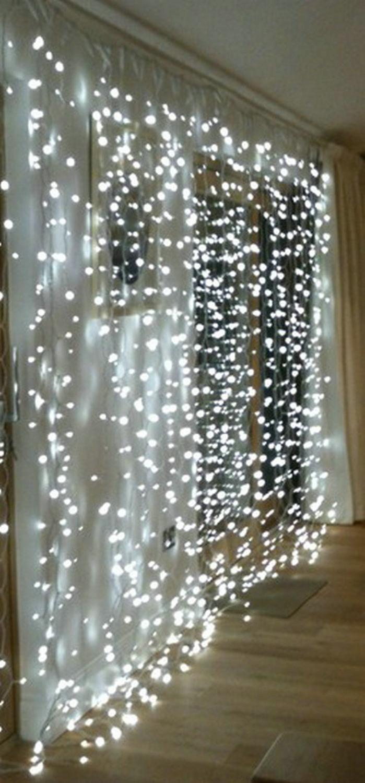 3Mx3M 300leds icicle led curtain string fairy light 300bulb Xmas Christmas Wedding home garden party garland decor 110V-5 COLORS(China (Mainland))