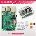 Raspberry Pi 3 Model B starter kit pi 3 board acrylic case cooling fan copper heatsinks