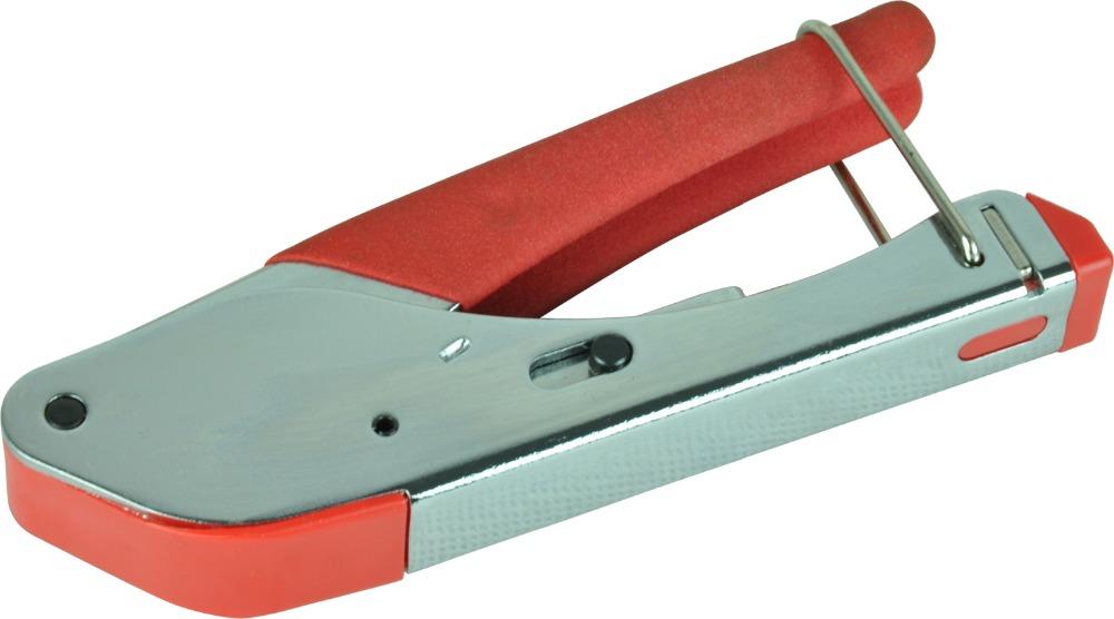 LS-H518A RCA/BNC/F connector RG6//RG59/pex coaxial cable compression crimping tool(China (Mainland))