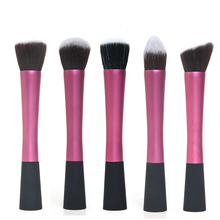 Pink Cosmetic Makeup Tool Beauty Saolon Facial Care Powder Blush Foundation Brush Kit Professional