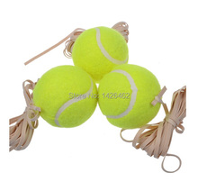 Free shipping HOT selling Take line tennis training with rope tennis ball golf balls with a rubber band from picking up the ball(China (Mainland))