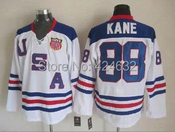 custom 2010 usa hockey jersey #81 Phil Kessel 88# patrick kane #9 Zach Parise jersey Personalized Any NO.& Name Sewn On(China (Mainland))