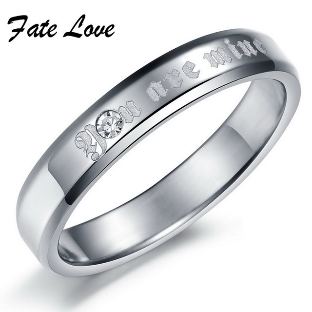(Different Styles Mixed Order) Fashion Wedding Rings stainless steel Rings Couple finger style 10pc/lot FREE SHIPPING