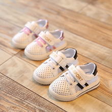2016 New Summer Baby Girl Boy Shoes Toddler Soft Bottom Breathable Sneaker Children Sports Casual Shoes Next Brand Free Shipping(China (Mainland))