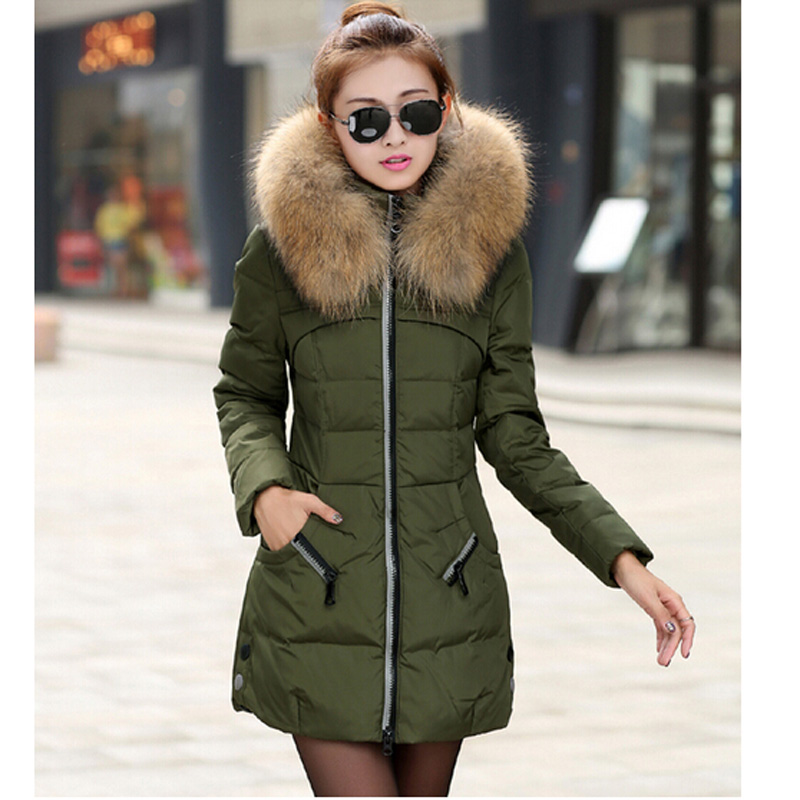 Plus Size Womens Down Winter Coats - Tradingbasis