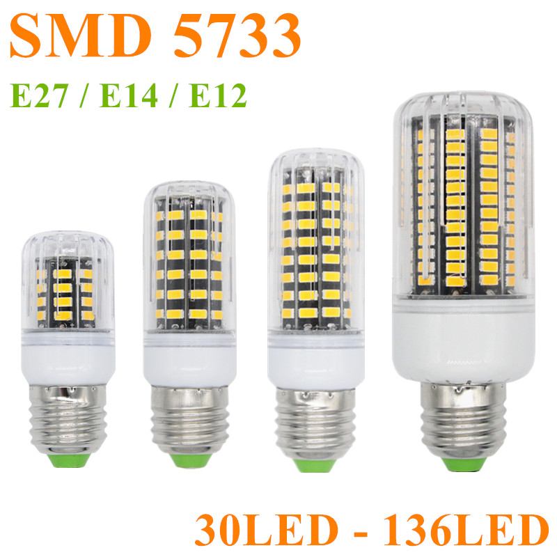 Buy lamparas smd 5733 brighter than 5730 - Bombillas e14 led ...