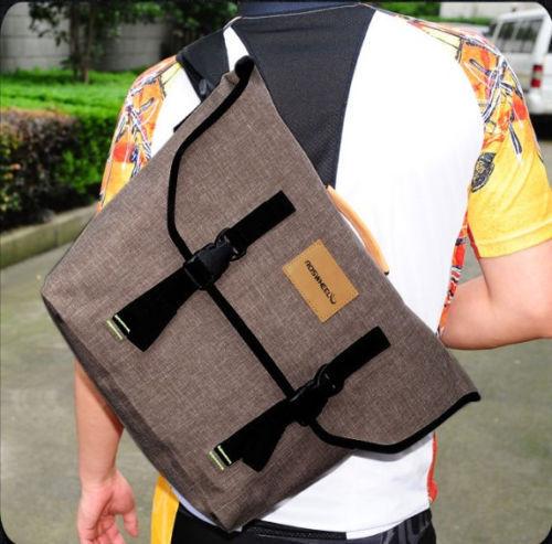 New Retro Cycling Bike Bicycle Messenger Bag Shoulder 22L Waterproof Handba(China (Mainland))