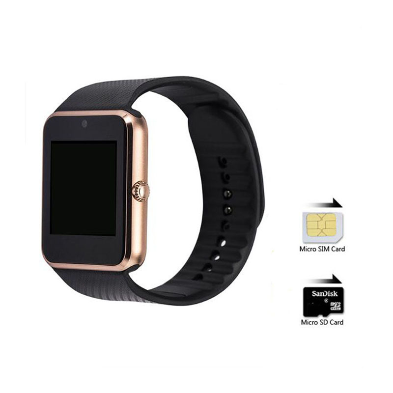 ZAOYIMALL Bluetooth Smart Watch GT08 watches With Sim Card slot wearable devices For Samsung iphone android pk u8 dz09 watch(China (Mainland))