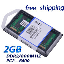 factory price notebook laptop pc6400 ram ddr2 2GB 800mhz  sodimm(China (Mainland))