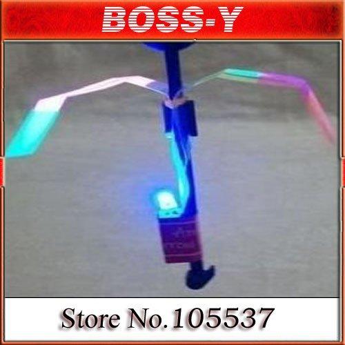 free shipping Flashing LED Arrows, Arrows flying toy ,rocket parachute, fairy mushroom ,50 pcs / lot(China (Mainland))
