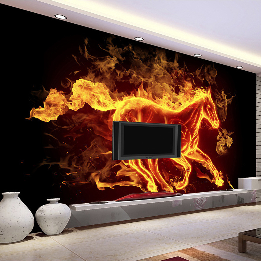 Wallpaper abstract art promotion shop for promotional for Mural vision tv