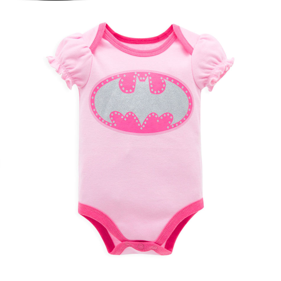 Cartoon Cotton Baby Rompers Summer Short Sleeve Baby Wear Infant Jumpsuit Boys Girls Clothes Roupas De Bebe Infantil(China (Mainland))