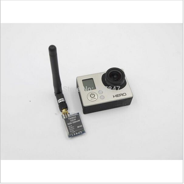 Boscam Mini FPV Tx Only 7.3g 5.8Ghz 32Ch 200mW AV Transmitter Module (TX) TS5823/ RP-SMA DJI Phantom(China (Mainland))