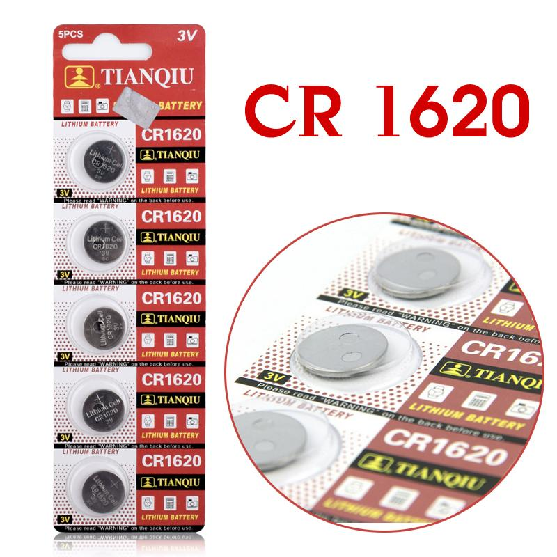 5pcs/Lot CR1620 1620 ECR1620 DL1620 280-208 3V Cell Battery Button Battery ,Coin Battery lithium battery For Watches,clocks<br><br>Aliexpress