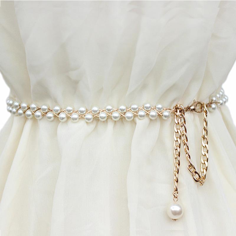 S Fashion Womens Chain Belt